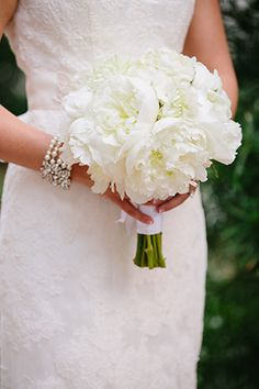 White modern bride // Photo By: http://candicekphotography.com