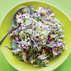 Creamy Lime Slaw | MyRecipes.com