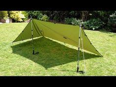 5 Tarp Shelter set-ups with a 9' x 5' Tarp http://rethinksurvival.com/5-tarp-shelter-set-ups-9-x-5-tarp-video/