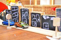 chalk board blocks