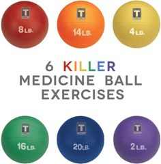 FEEL THE BURN: 6 killer medicine ball exercises