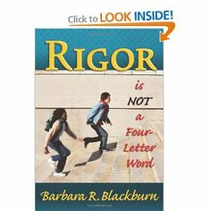 Rigor is NOT a Four-Letter Word $26.32