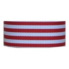 Grosgrain Candy Stripe Ribbon 7/8 Inch 10 Yards, 4 Colors