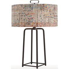 Griffith Bronze Iron Lamp