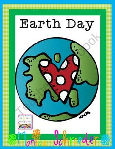 Earth Day Celebrations from The Schroeder Page on TeachersNotebook.com (39 pages)  - Celebrate Earth Day with your students and read a great book too!
