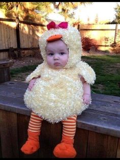 duck costume...awwwww!