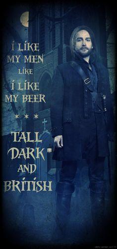 "Tom Mison as Ichabod Crane in Sleepy Hollow: ""Tall Dark and British"""
