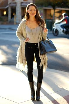 perfect late fall outfit
