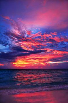 clouds, beaches, beach sunsets, color schemes, sunset beach, sunris, beach beauty, at the beach, astronomy