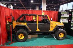 Teraflex #Jeep at #SEMA 2012