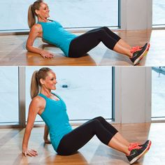 10 moves to tone your trouble zones.