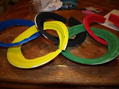 The Winz family notebook: Winter Olympics craft