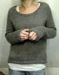perfect knitted sweater- Il Grande Favorito by Isabell Kramer http://www.ravelry.com/projects/lilalu/il-grande-favorito