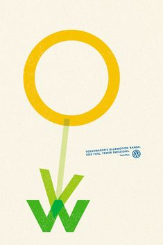 #Volkswagen Flower Ad