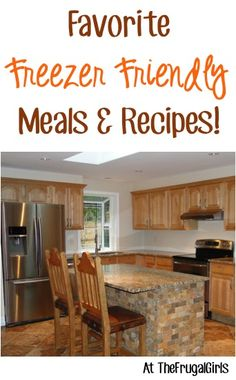 Favorite Freezer Friendly Meals + Recipes!! ~ from TheFrugalGirls.com - you'll love these freezer cooking tips for stocking your freezers with these easy dinner recipes! #recipe #thefrugalgirls