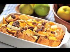 Capirotada con Frustas - Imprime esta receta en: http://cocinaycomparte.com/recetas/capirotada-con-frutas