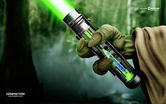 Compactor Cia de Canetas : Yoda