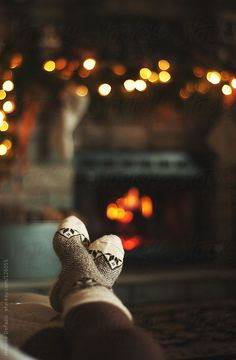Cosy by the fire!