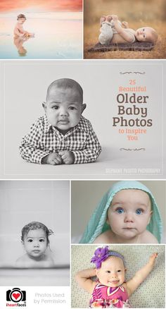 How cute!! 25 Beautiful Older Baby Photos to Inspire You.