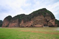 Mount Longhu -- Longhushan  literally 'Dragon Tiger Mountain', is located in Jiangxi, China. It is famous for being one of the birthplaces of Taoism, with many Taoist temples built upon the mountainside.