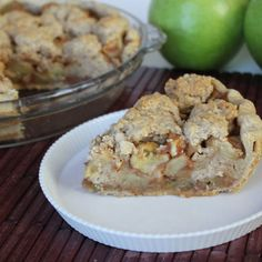 Snickerdoodle Apple Pie  vegan, plantbased, Earth Balance, Made Just Right