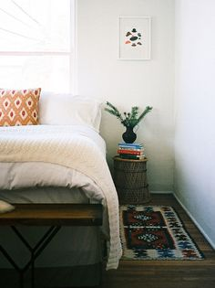 a simple bedroom