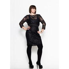 Crochet-laced black blouse $197.48