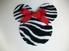 DIY NoSew Minnie Mouse