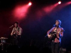 Johnny Flynn and Marcus Mumford singing The Water