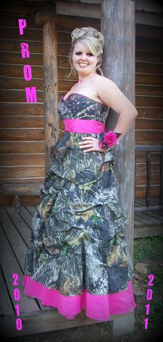My Camo Prom Dress that i designed and my sister made for me:) everyone LOVED it!!!:)