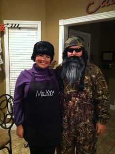 Ms. Kay and Phil!