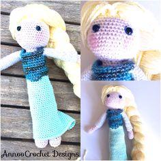 Elsa Free Tutorial By AnnooCrochet Designs