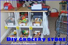 The Activity Mom: Pretend Play - Grocery Store