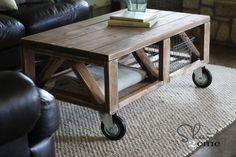 decor, coffee tables, craft, idea, diy furniture, diy project, ana white, coffe tabl, handmade furniture