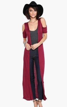 Maxi cardigan is a staple for Fall 2014. Find maxi cardis from Necessary Clothing, boohoo, ASOS at trendslove http://www.trendslove.com/hashtag/maxicardigan