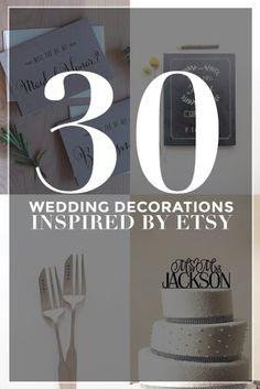 30 Genius Wedding Decorations