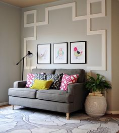 Accent wall with Gre