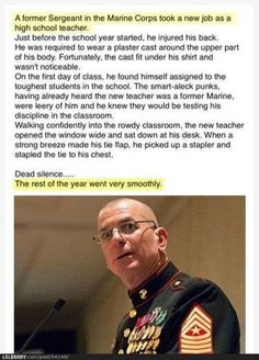 Marines are so funny!!  hee-hee