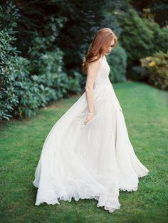 Gown from Nearly Newlywed | Classic elegant wedding ideas ~ Erich McVey