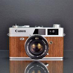 Canon Canonet QL19 Mahogany