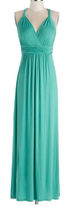 Loving this jersey maxi dress in #turquoise http://rstyle.me/n/ewdk5nyg6