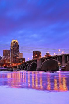 A Cold View of Minneapolis | Minnesota