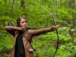 What many people don't know is that the movie, Hunger Games was filmed in NC. This shot of Katniss was filmed in Asheville in the Blue Ridge Mountains.  Several people from Gastonia and Cramerton are extras.