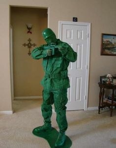 Fabulous Plastic Soldier Toy costume from Toy Story