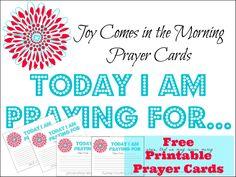 Free Printable Prayer Cards