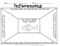 Swimmy  Inferencing  How I love that book.