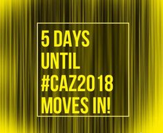 Only 5 DAYS until MOVE-IN DAY! Who's excited?! #Caz2018 #CazCollege
