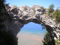 Mackinac Island Arch #puremichigan