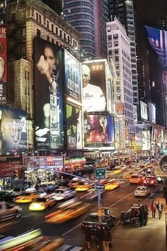 NYC. Busy Times Square