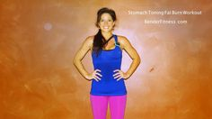 Melissa Bender Fitness: 16 minute Stomach Toning Fat Burn Workout. Workout to burn fat and build long/lean abs.